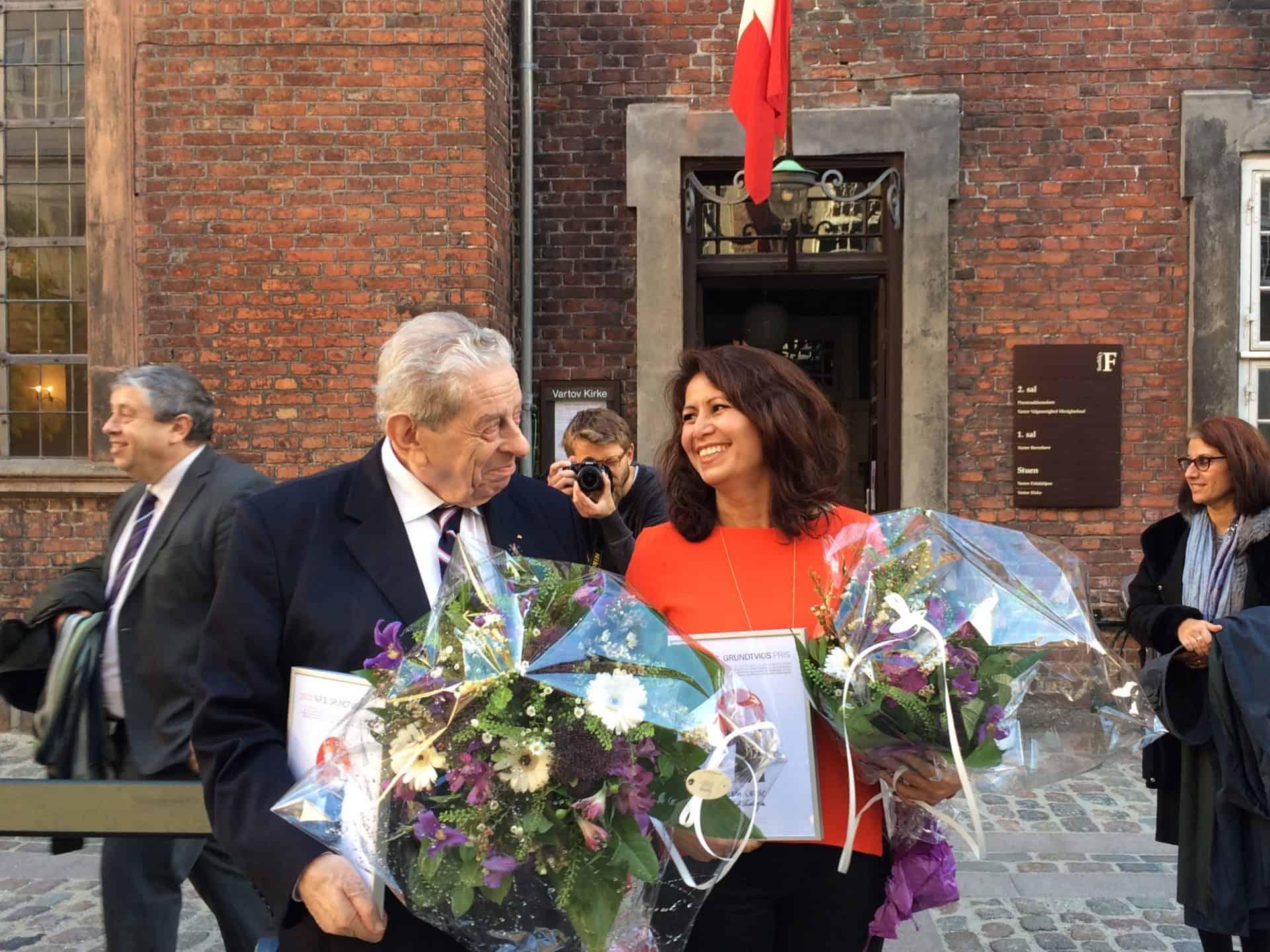 N.F.S. Grundtvigs Pris 2016 går til Özlem Cekic og Bent Melchior