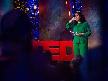 Özlem taler til TED Talk i New York