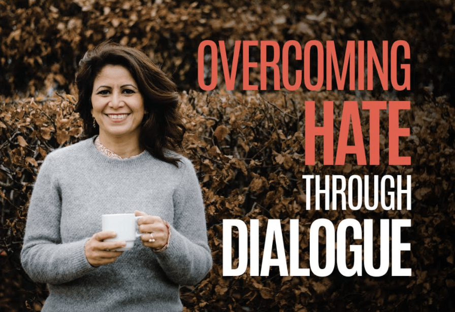 """New book: """"Overcoming Hate Through Dialogue – Confronting Prejudice, Racism, and Bigotry through Conversation – and Coffee"""""""