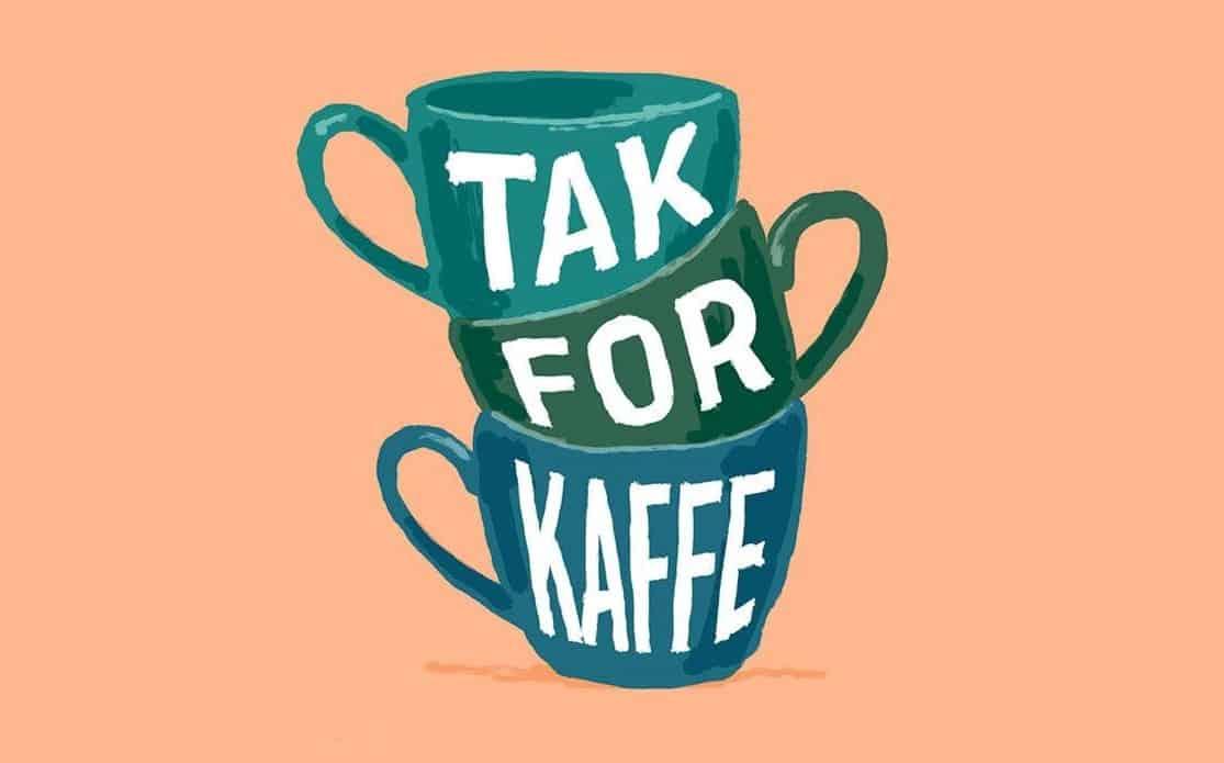 Køb et signeret eksemplar af Tak For Kaffe